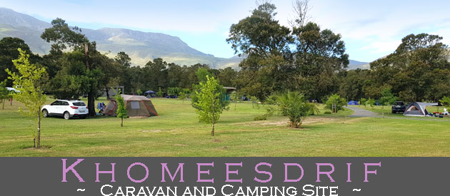 KHOMEESDRIF CAMPING SITE, RIVIERSONDEREND